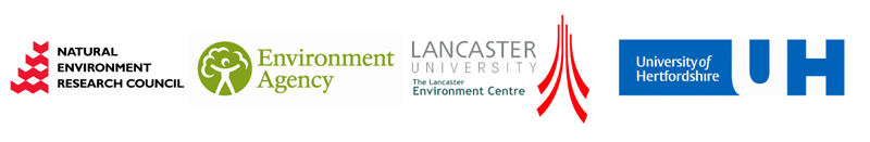 Natural Environmental Research Council; Environment Agency; Lancaster University; University of Hertfordshire